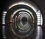 Fonvizinskaya-Metrostation, Moskau stockbilder