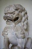 Foo狗寺庙雕塑 库存图片