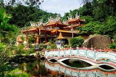 Foo Lin Kong Temple imagens de stock royalty free
