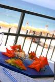Food. Mediterranean fish cuisine, Italy, Liguria Stock Images