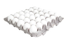Free Food: 24 Count Carton Of Eggs Stock Photography - 37152