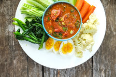Food. A northen traditional food in Thailand Stock Image