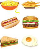 Food stock illustration