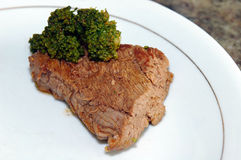 Food. Beef with Broccoli Royalty Free Stock Photos