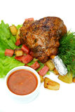 Food. From fast  restaurants royalty free stock images