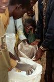Food aid in Burundi. Stock Images