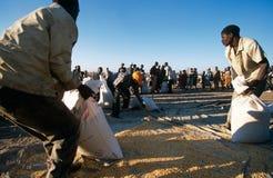 Food aid in Burundi. Royalty Free Stock Images