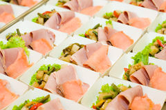 Food for airline Royalty Free Stock Photo