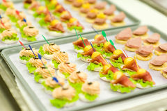 Food for airline Royalty Free Stock Image