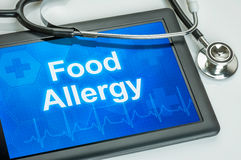 Food allergy royalty free stock images