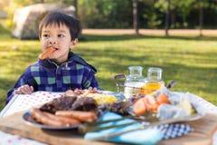 Food And Kid Stock Image