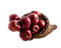 Food: Apple Basket (2 of 4) royalty free stock photography