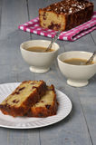 Food apple cranberry cake Stock Images