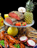 Food assortment Royalty Free Stock Images