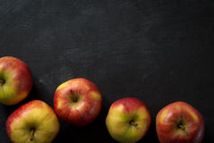 Food Background Apples Stock Image