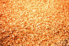 Food background with copy space. Shiny Brown sugar on wooden bac Royalty Free Stock Photos