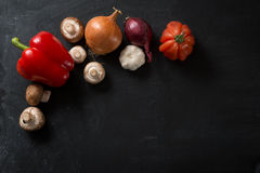 Food Background fresh vegetables Royalty Free Stock Photography