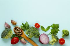 Food background, healthy eating healthy eating Royalty Free Stock Photography