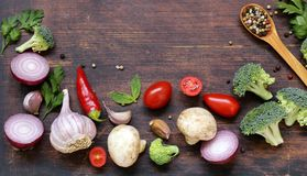 Food background, healthy eating healthy eating Royalty Free Stock Image