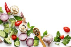 Food background, healthy eating healthy eating Stock Images
