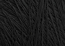 Food background of squid ink spaghetti Stock Photo