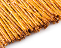 Food background from a salted straws stock image