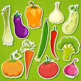 Food   background vector illustration Stock Image