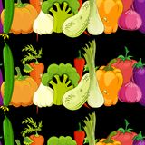 Food background vector illustration Royalty Free Stock Photography