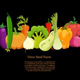 Food   background vector illustration Royalty Free Stock Photos
