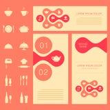 Food background, vector illustration