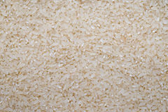 Food background of white round rice Royalty Free Stock Images