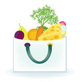 Food bag Royalty Free Stock Photography