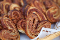 Food Baking cinnamon rolls Stock Photography