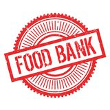 Food bank stamp Royalty Free Stock Images