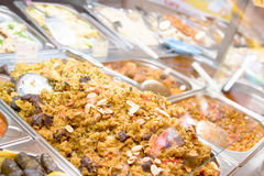 Food Bar Stock Photography