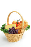 Food Basket Royalty Free Stock Image