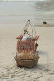 Food on beach, Koh Samet, Thailand royalty free stock image