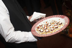 Food being served Stock Images