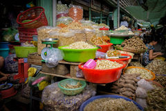 Food, Binh Tay Market, Vietnam Royalty Free Stock Photos
