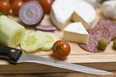 Food board royalty free stock image