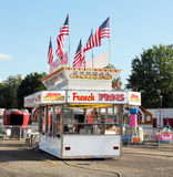Food Booth. Food booth at the carnival with Stock Photography