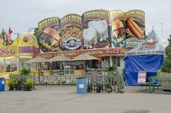Food booth Stock Photos