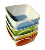 Food Bowls Royalty Free Stock Image