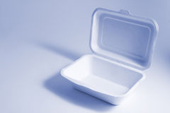 Food Box. In Blue Tone Royalty Free Stock Photos