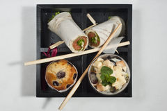 Food box 2 Royalty Free Stock Photography