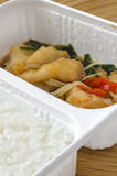 Food box Royalty Free Stock Photography