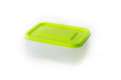 Food box. A food box  on white background Stock Image