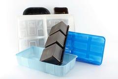 Food boxes Stock Photo