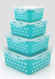 Food boxes storage Royalty Free Stock Photo
