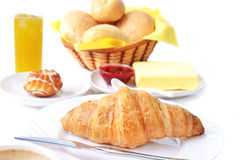 Food for breakfast Royalty Free Stock Photography